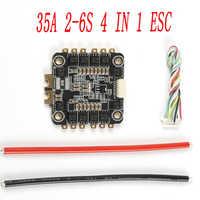 Speciale Editie REV35 35A BLheli_S 2-6 s 4 In 1 ESC Eingebaute Sensor voor RC Racer racing FPV drone Ersatzteile