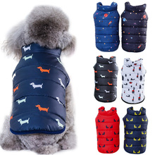Pet Dog Winter Coat Small Dog Clothes Warm Dog Jacket Puppy Outfit Dog Coat Chihuahua Shih Tzu Clothing For Dogs ropa para perro cartoon funny christmas dog clothes for small dogs winter coat french bulldog jacket chihuahua shih tzu outfit puppy pet clothes