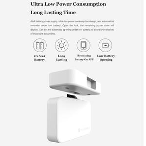 Image 5 - Orijinal Xiaomi akıllı ev elektronik Yeelock otomasyon modülleri çekmece dolap anahtarsız kilit Bluetooth telefon APP emniyet kilidi