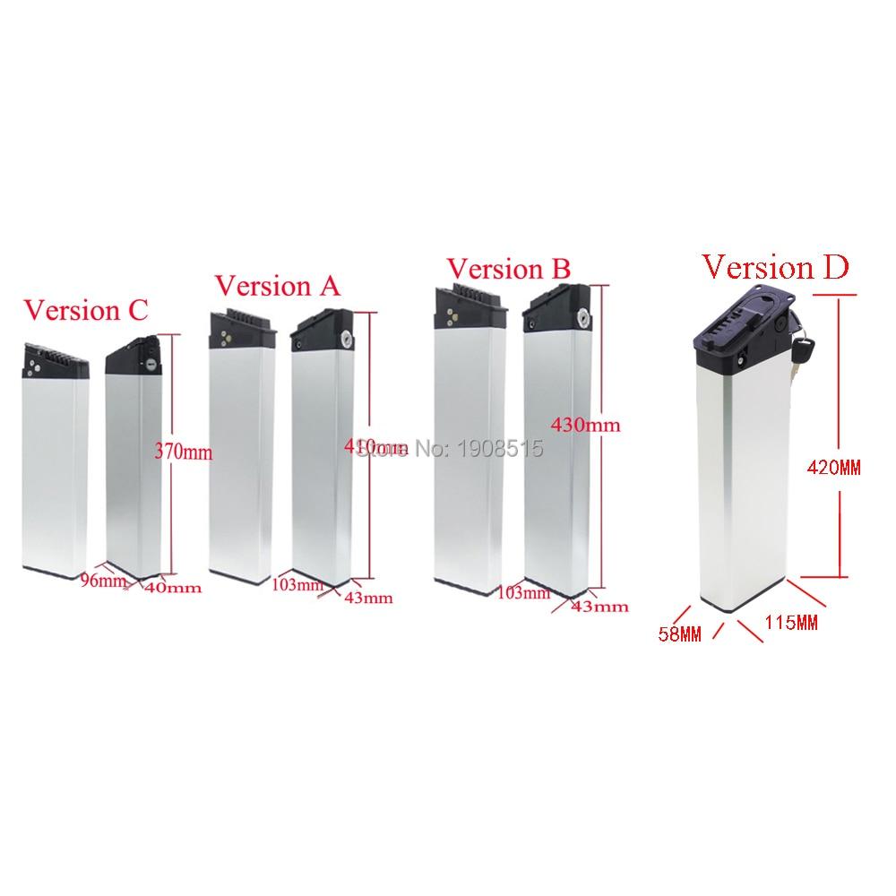 Folding Ebike Battery Box 40pcs 50pcs 52pc 65pcs Cells Mate Electric Bike MATE X Battery Case