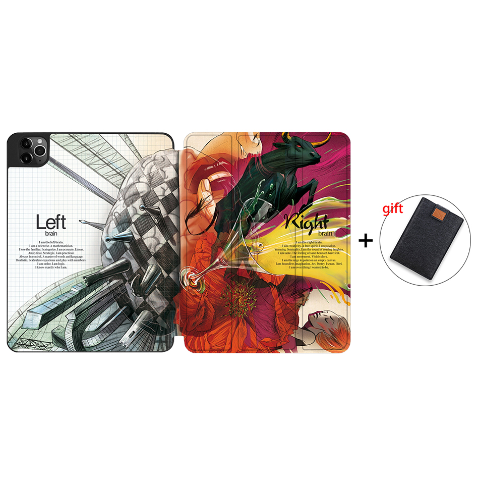 IPTPU02 Other MTT Soft TPU Case For iPad Pro 11 inch 2nd Gen 2020 Tablet PU Leather Flip