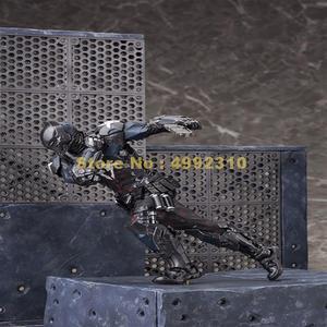 Image 5 - comic bat man arkham knight moveable action figure pvc collection model 23cm Toy
