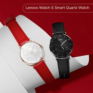 Image 3 - Lenovo Original Watch S Smart Watch Quartz Watches Intelligent Reminder 50M Waterproof Long Battery Life Sports Smartwatch