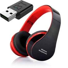 Auriculares inalámbricos con Bluetooth, Kit de conexión usb, potentes graves, cancelación de ruido, auriculares de baja retardo