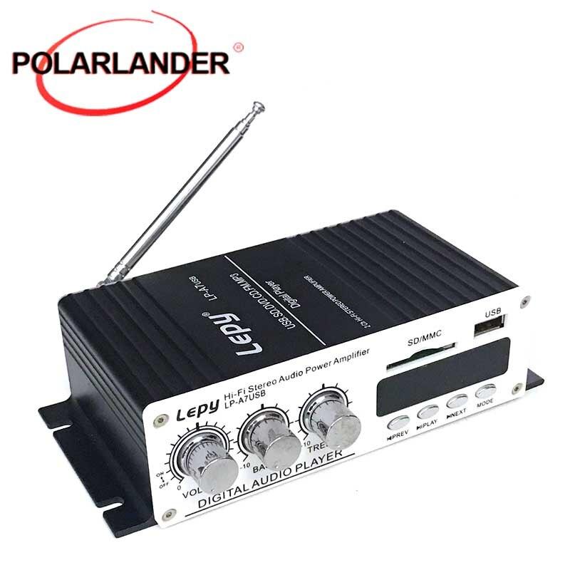 Lepy LP A7USB усилитель мощности многофункциональный FM SD USB MP3 плеер стерео для домашнего автомобиля|amplifier mini|amplifier circuitamplifier effect | АлиЭкспресс