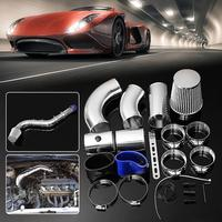 3inch Universal Washable Car Performance Cold Air Filter Induction Intake Pipe Hose Kit