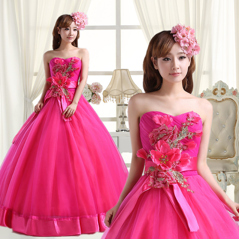 Lovely Pink Quinceanera Dress Ball Gown Sweetheart Lace with Bow 2019 Party Dresses for Girls 15 Years Vestito Quinceanera