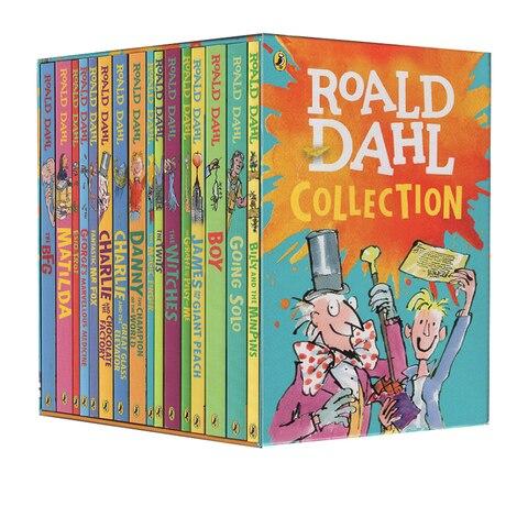 16 livros roald dahl colecao literatura infantil romance historia livro conjunto educacao precoce leitura para