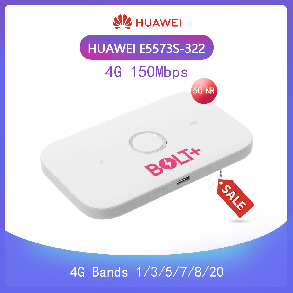 Unlocked Huawei E5573cs-322 4G Dongle Lte Wifi Router Mobile Hotspot Wireless 4G LTE Fdd Band Pk E5778  R216