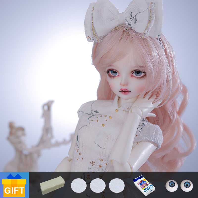Free Face Make UP+Free Eyes+Free DHL 1//3 BJD Doll SD Doll Girl Lana