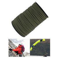 100M 550 Paracord Parachute Cord Lanyard 9 Strand Core Tent Rope Climbing|Paracord|Sports & Entertainment -