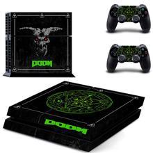 الموت نمط PS4 الجلد ملصقا ل بلاي ستيشن 4 وحدة التحكم و 2 تحكم صائق الفينيل واقية جلود نمط 6