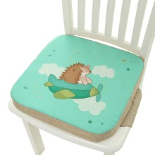 Seat Dining-Chair Chair-Pad Heighten-Cushion Adjustable 5cmchildren's Baby Cartoon Sponge