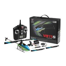 цена WLtoys V911S 4CH Remote Control Helicopter RC Airplane 6-axle Gyro Plane R9UE онлайн в 2017 году