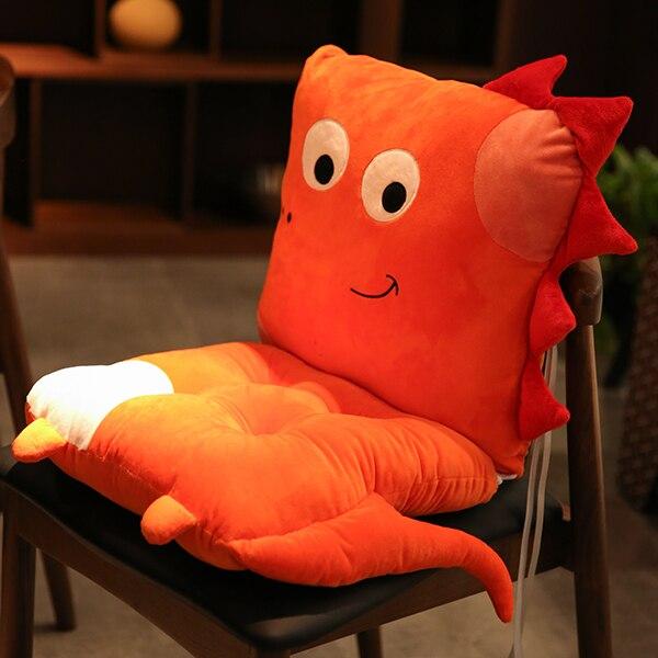 Cute Dinosaur Seat Cushion Cartoon Animal Seat Cushions Kitchen Chairs Chair Pillow Floor Seat Office Sofa Seat Cushion Cc50zd Cushion Aliexpress