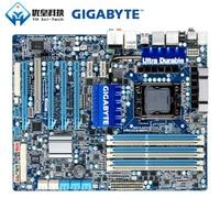 Gigabyte GA-X58A-UD3R intel x58 original usado desktop placa-mãe lga 1366 core i7 usb3.0 ddr3 24g atx