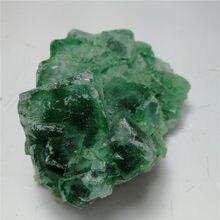 Pierres précieuses naturelles en cristal de roche, cristaux de guérison bruts, fluorite, quartz, spécimen, 1 pièce