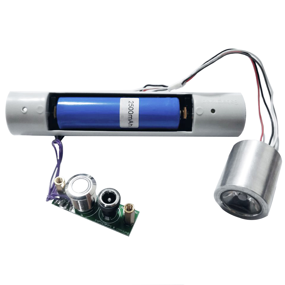 LGTOY RGB Electronics Kits Lightsaber Lock Up Blaster Flash On Clash 6 Font of Sound with Mute LED Whole set