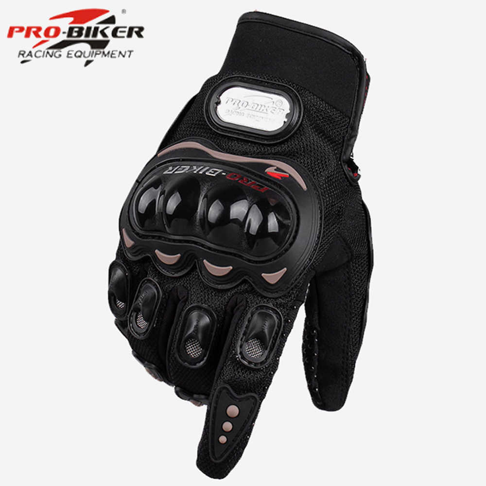 Motocross Riding Gloves Car Racing Motorbike Sports Hand Gear Full Protection