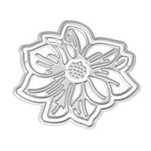 3d Цветок Металлический Трафаретный вырубной штамп Скрапбукинг