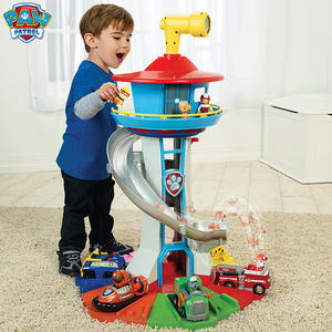 Paw Patrol Base Watchtower Car-Toy Track-Rescue Headquarters-Collection Oversized Gift