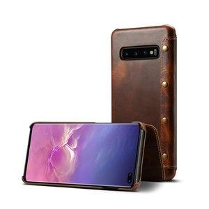 Image 4 - Cuir véritable pour Samsung Galaxy S10 Coque Coque Samsung S10Plus étui à rabat de luxe pour Etui Samsung S10 Plus étui Galaxy S10e