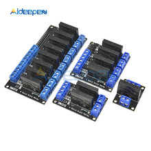 1/2/4/8 Channel 5V DC Relay Module Solid State High Low Leve