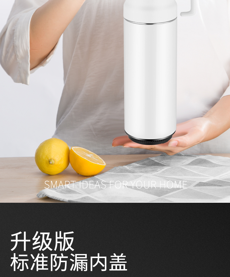 Xiaomi Electric Hot Water Cup Travel Electric Kettle Electric Boiling Cup Water Bottle Portable Burning Cup Mini Health Cup 3