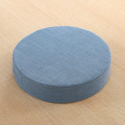 Coussin de sol circulaire de méditation et de yoga