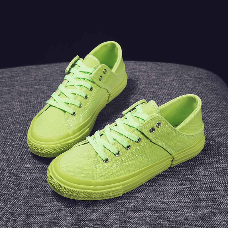 Summer Candy-Colored Double Purpose Girl'S Canvas Shoes 2019 New Style Korean-style Casual Versatile Breathable Lazy Foot Coveri