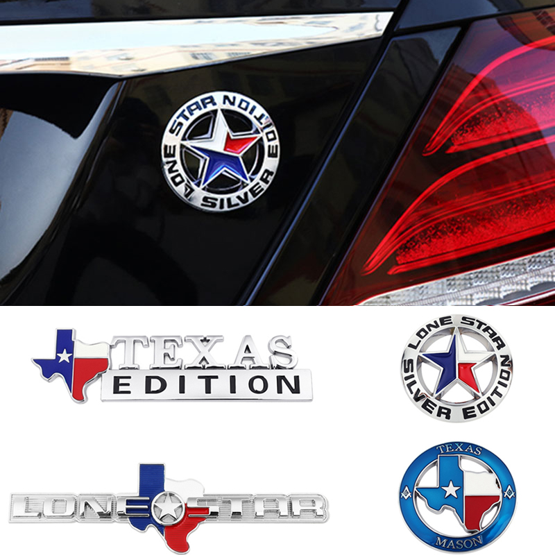 Masonic Chrome Auto Emblem Texas Mason