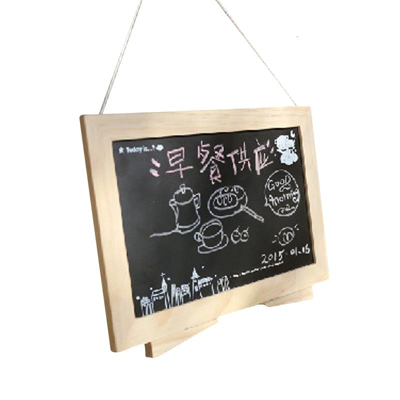 Originality Stationery Small Bear Originality Seat Type Square Two-sided Small Blackboard Handwriting Board