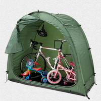 Cycling Bike Tent Waterproof Bike Storage Shed 190T Bicycle Storage Shed With Window Design For Outdoor CampingTent