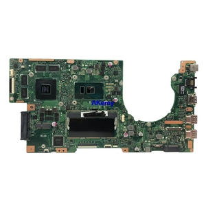 Image 2 - K501UX для For Asus K501UX K501UB K501U материнская плата для ноутбука K501UX материнская плата rev2.0 i5 6200U cpu с видеокартой GTX 950M