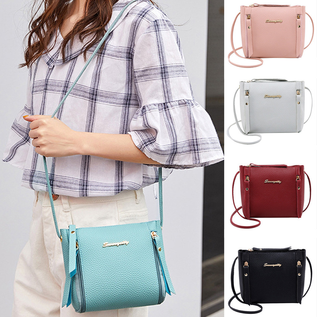 Women 2019 New Fashion Shoulder Bag Casual Messenger Bag Simple Purse Handbag