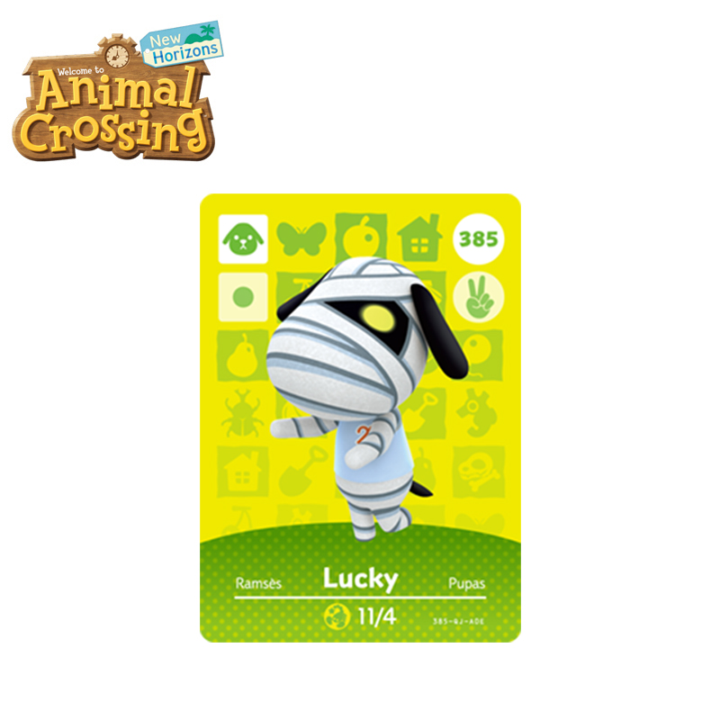 385 Lucky Best Animal Crossing New Horizons Funniest Villagers Lucky Amiibo Card Animal Crossing Card Series 4 For Switch Game