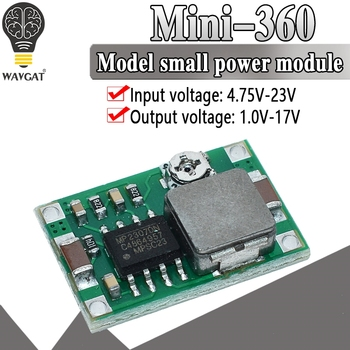 RC Airplane Module Mini 360 DC Buck Converter Step Down low power module 4.75V-23V to 1V-17V Better than LM2596 2A - discount item  7% OFF Active Components
