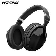 Mpow H5 2 Gen kablosuz kulaklık Bluetooth ANC aktif gürültü önleyici mikrofonlu kulaklıklar 18H çalma süresi iPhone Android telefon için