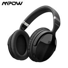 Mpow H5 / H5 2da generación de auriculares Bluetooth Auriculares inalámbricos estéreo ANC sobre oído con micrófono para iPhone X / 8/7 y teléfono Android