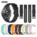 Ремешок UEBN силиконовый спортивный для Samsung Galaxy Watch 3 41 мм, браслет для galaxy watch 3 45 мм S3 Frontier