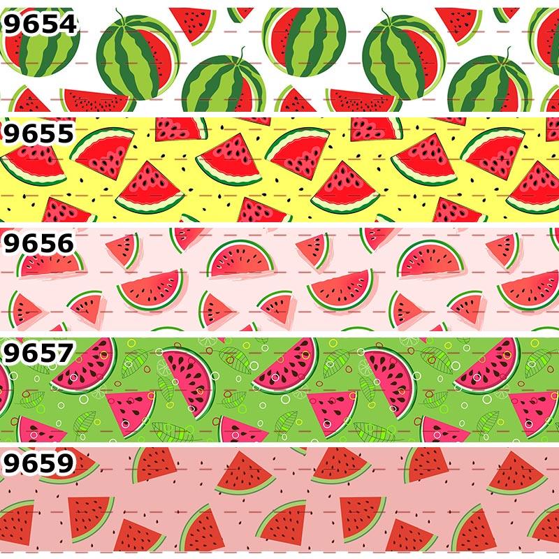 010913-1 12 Watermelon #2 Grosgrain Ribbon 40mm -