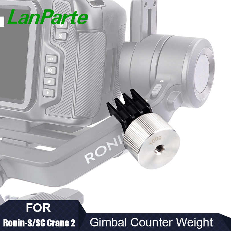 Lanparte Ronin S Sc Counterweight For Dji Zhiyun Crane 2 Gimbal Accessories For Blackmagic Bmpcc 6k 4k Photo Studio Accessories Aliexpress