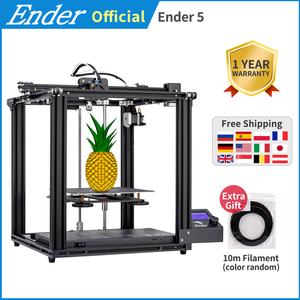 3D printer Ender-5 Large Print size Cmagnetic build plate,Power off resume easy build Core-XY Creality 3D ender 5(China)