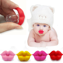 Baby Pacifier Red Kiss Lips Dummy Pacifiers Funny Silicone Nipples Teether Soothers Dental Care 2019