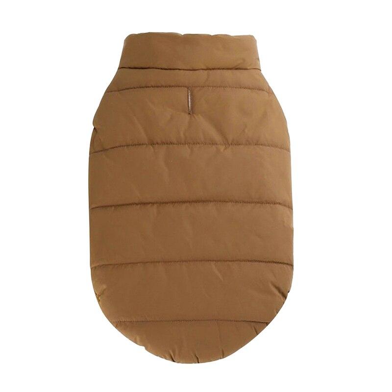 Зимнее пальто для домашних животных теплая одежда маленьких
