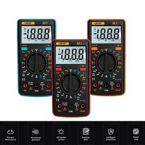 Image 1 - M1 Multimeter Portable LCD Digital Multimeter Backlight AC/DC Ammeter Voltmeter Ohm Tester Meter Handheld Multimeter Tester