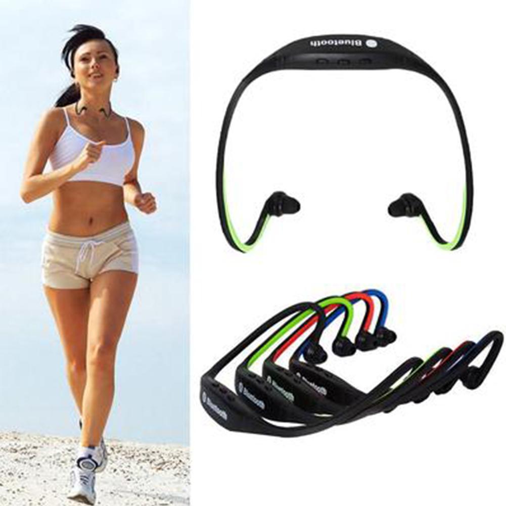 Wireless Headphone Sport Bluetooth Earphone True Cordless Earbuds Handsfree Headset with Mic for Phone