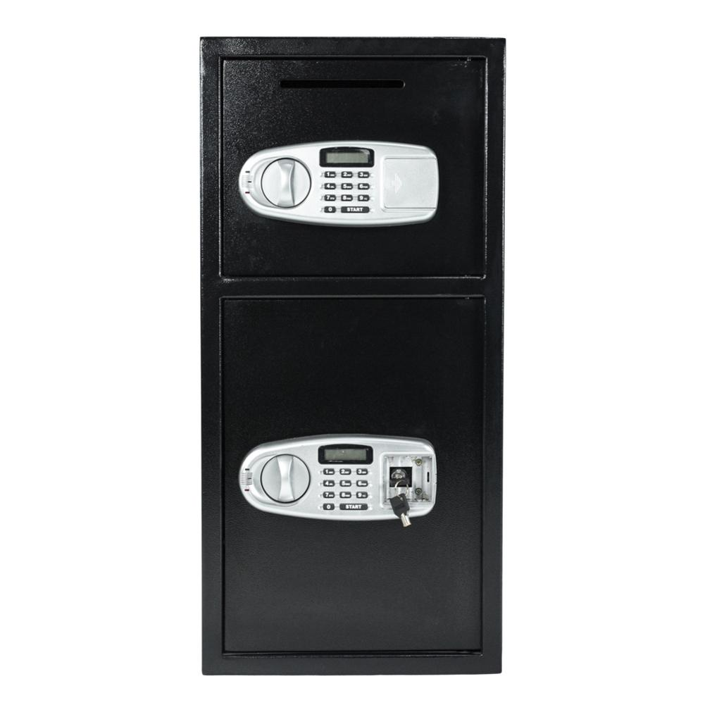 Digital Safe Box Keypad Double Depository Cassaforte Cofre Eletronico Coffre Fort Electronique Black 77.5 X 37 X 36cm