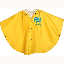 Outerwear Poncho Raincoat Hooded Toddler Kids Children's Clothing Cape Disposable Baby-Girls