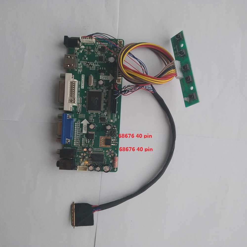 DIY for B173RW01 <font><b>1600X900</b></font> kit Audio <font><b>40PIN</b></font> Controller board Panel 17.3